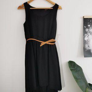 Dex Black Sleeveless Dress
